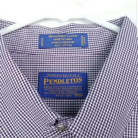 Pendleton Other - Pendleton Mens Size XXL Shirt Broadway Cloth